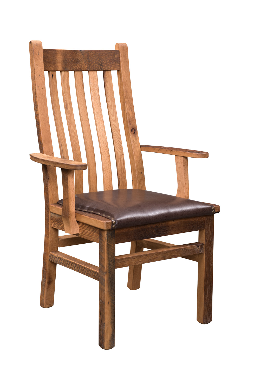 Barn Wood Mission Chair - Product Alternate Image