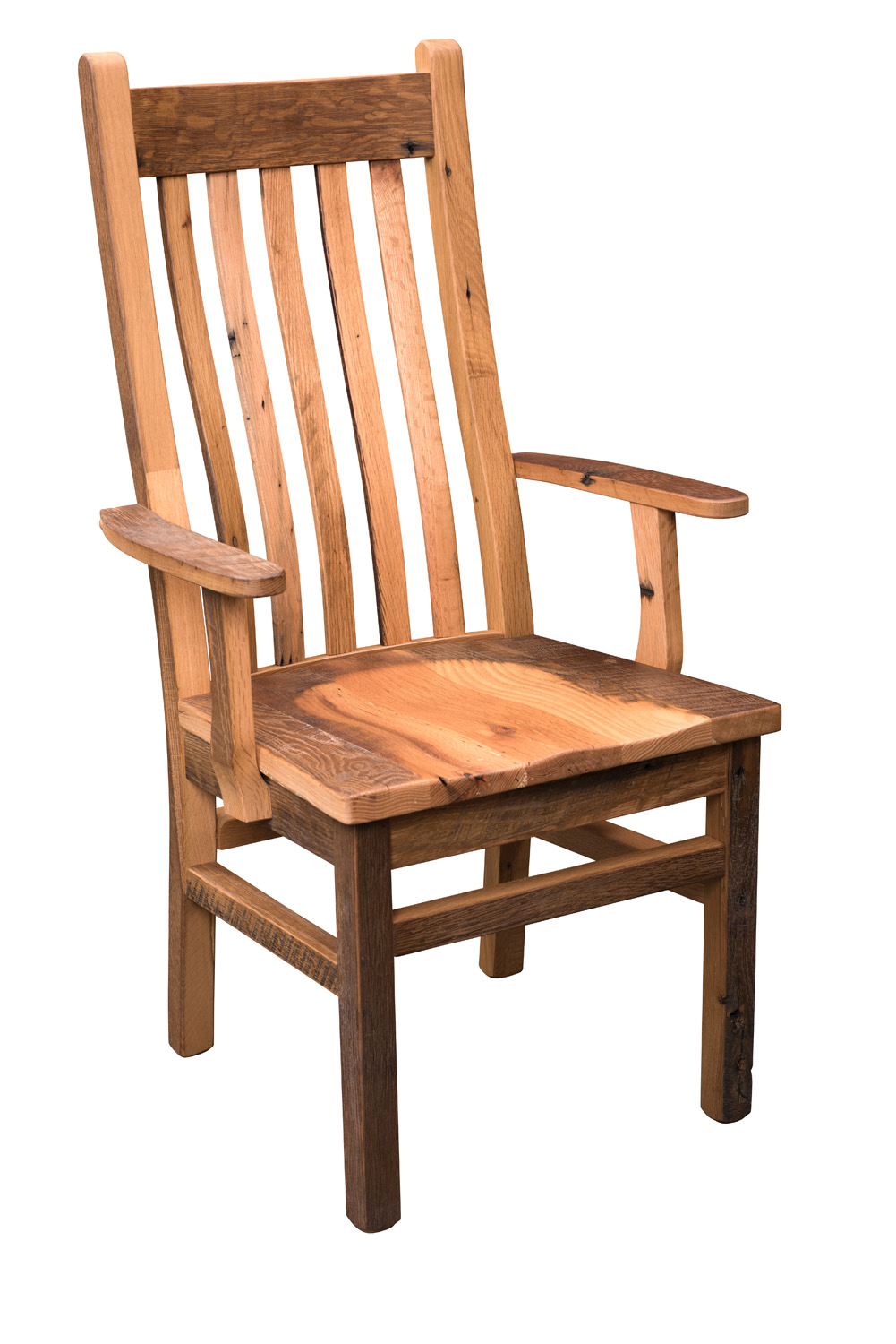 Barn Wood Mission Chair Product