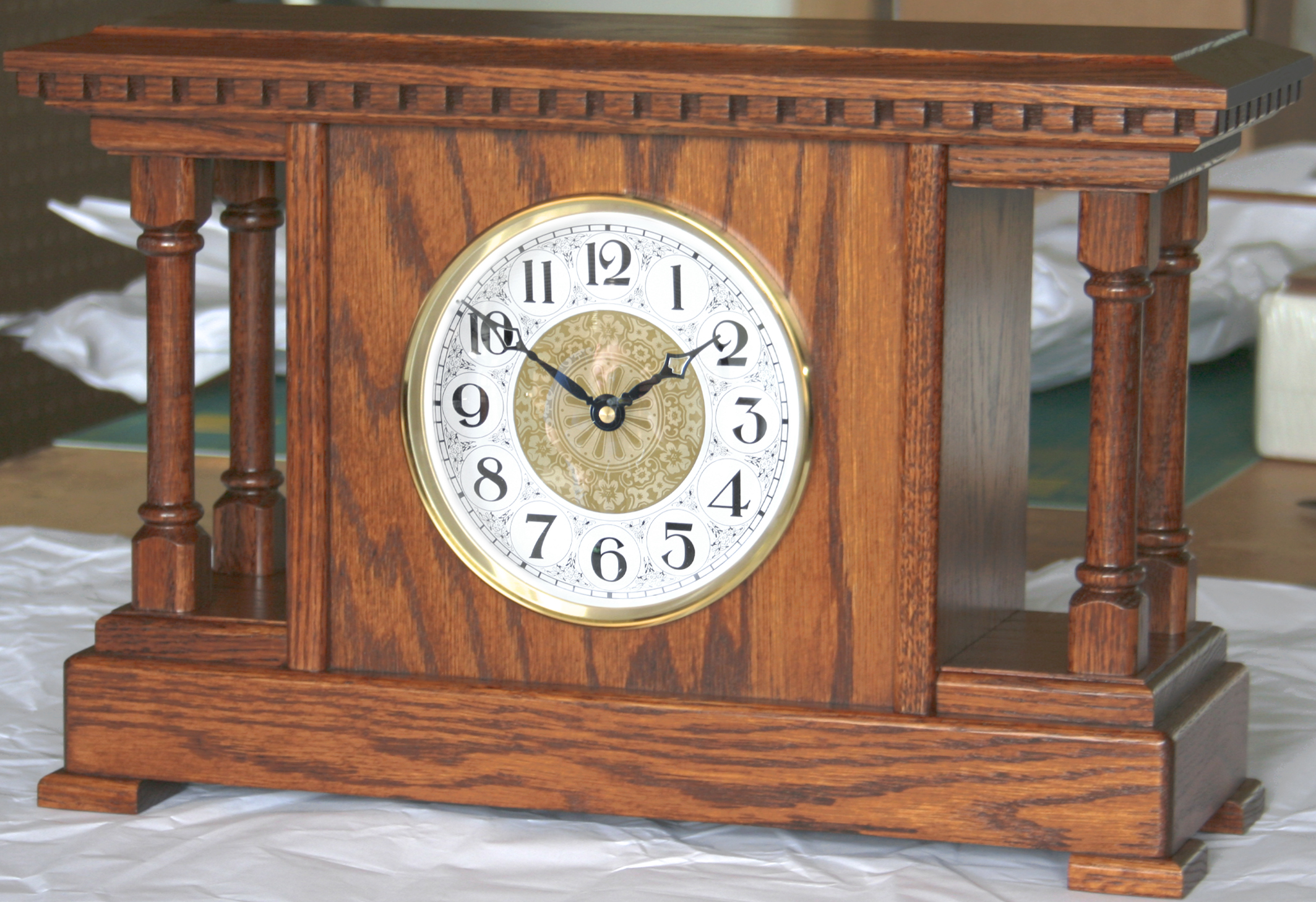 Ashery Mantel Clock Product