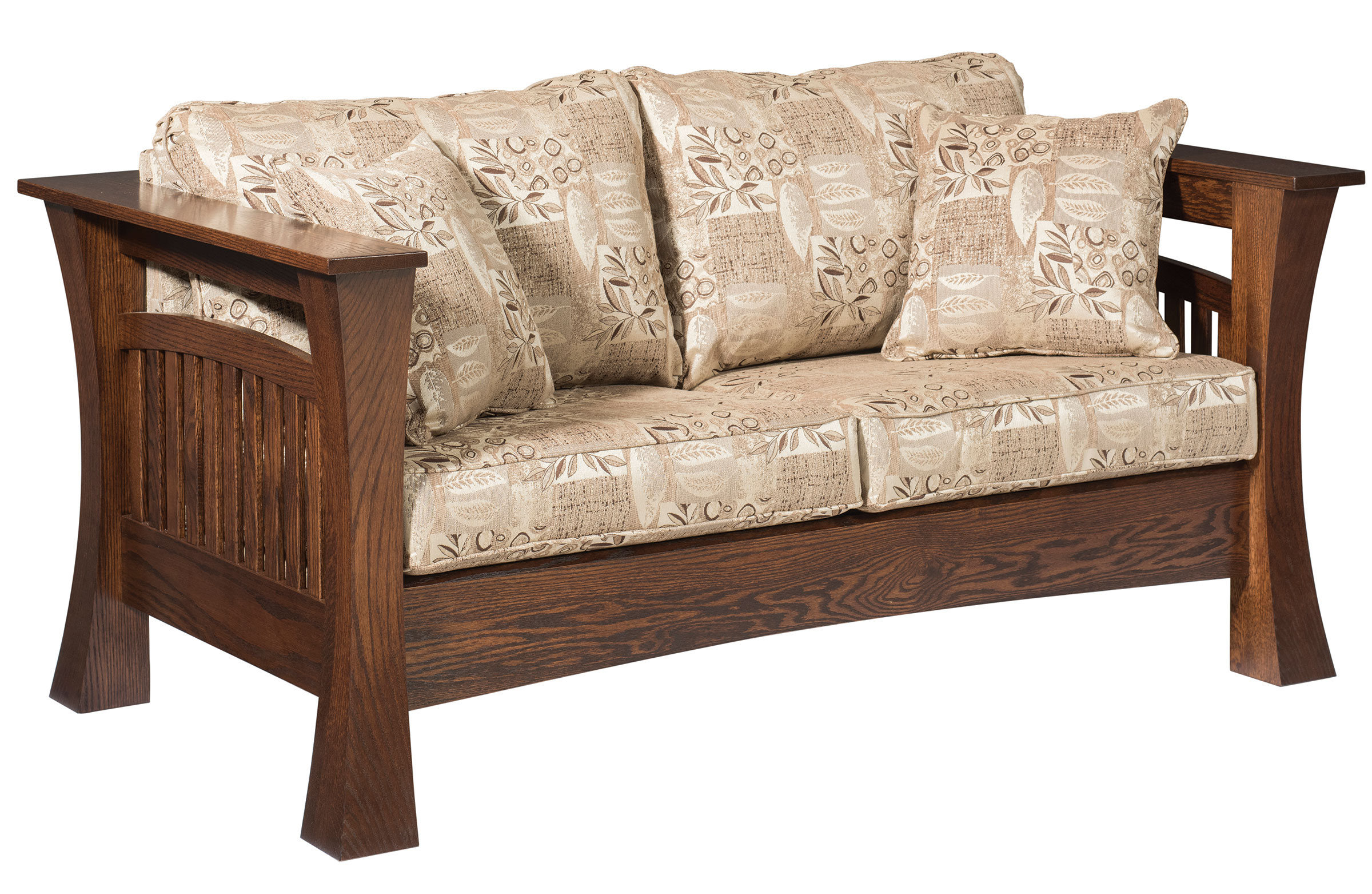 Aspen Log Loveseat Hardwood Creations