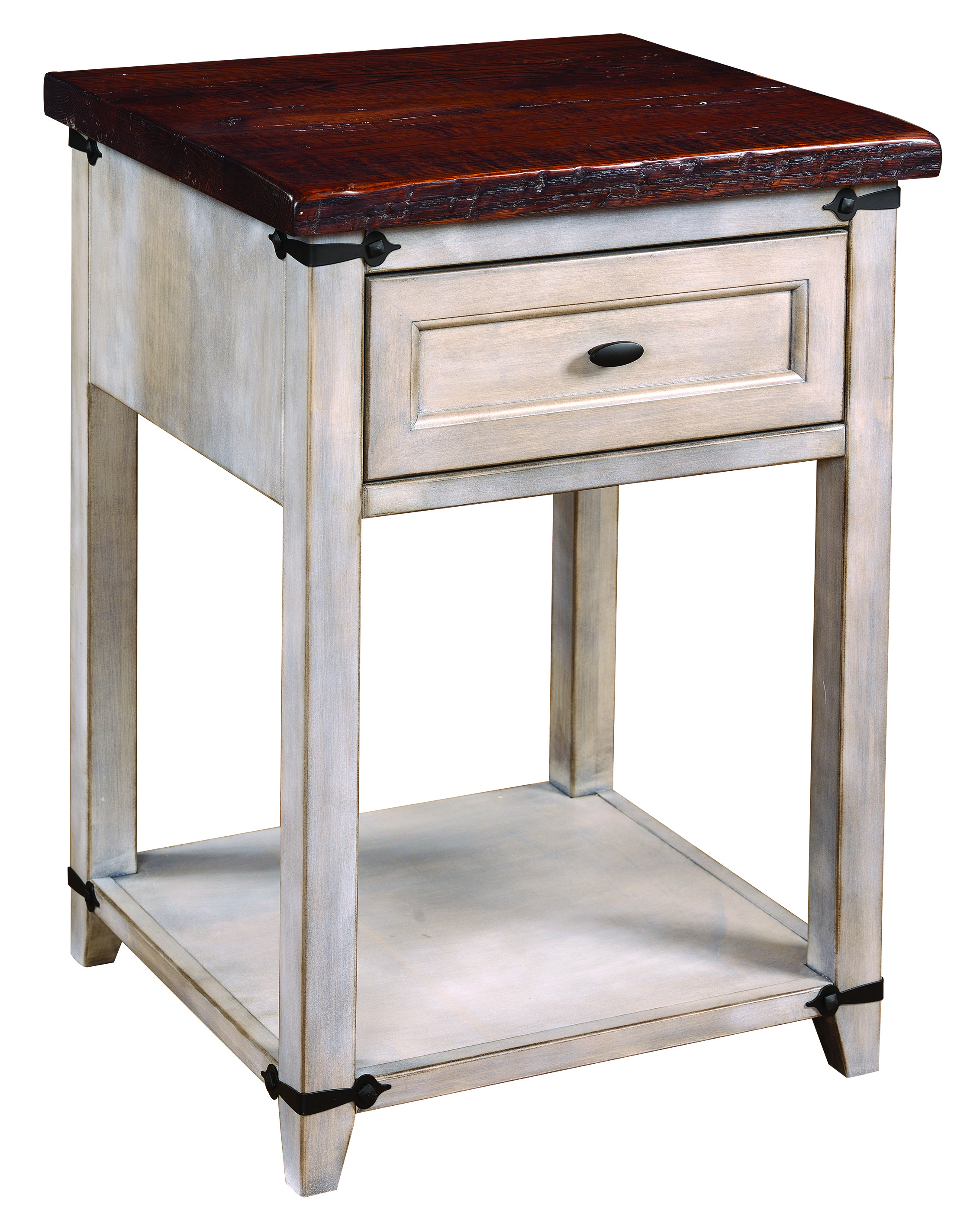 1-Drawer Farmhouse Heritage Nightstand Product