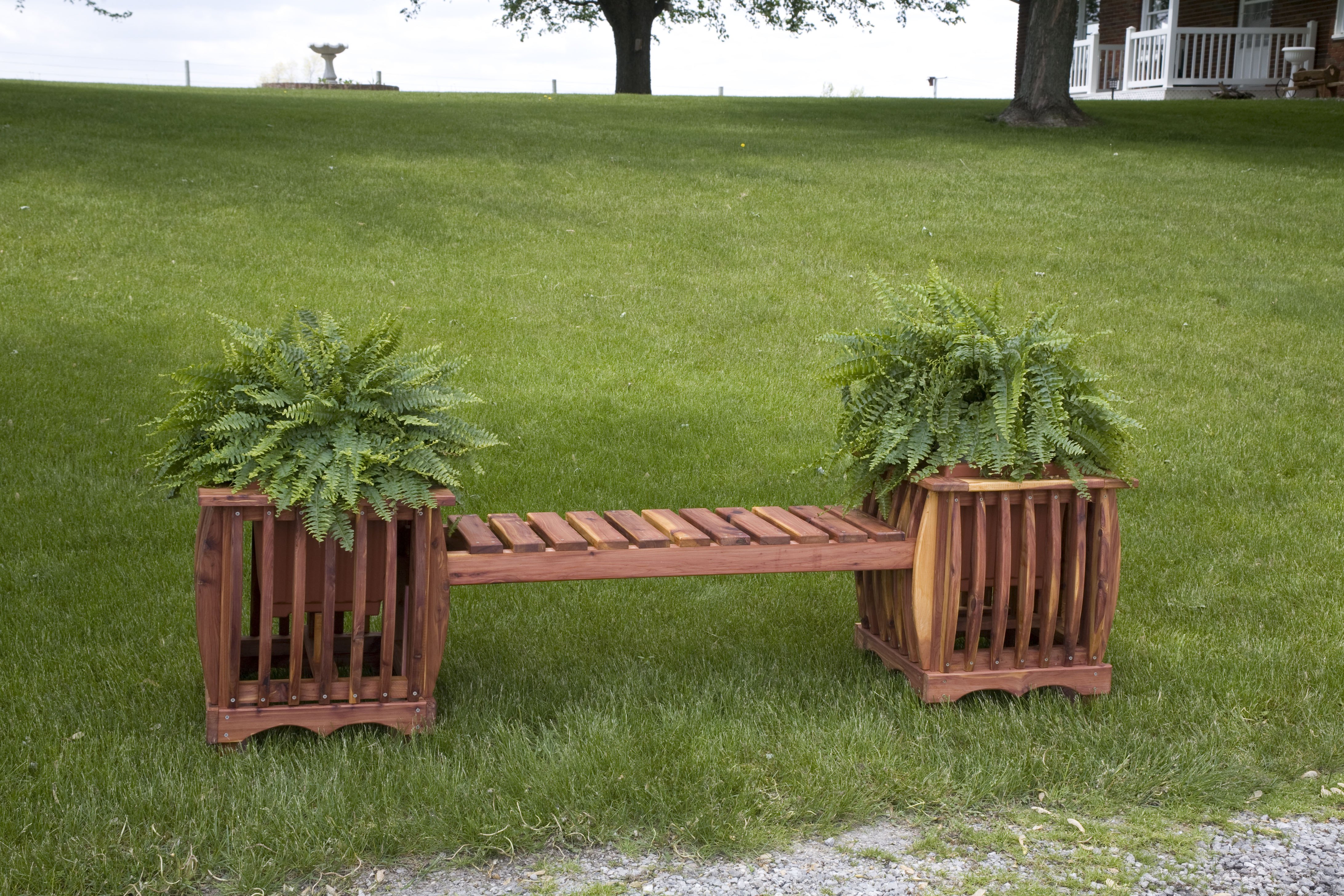 Planter Bench Product