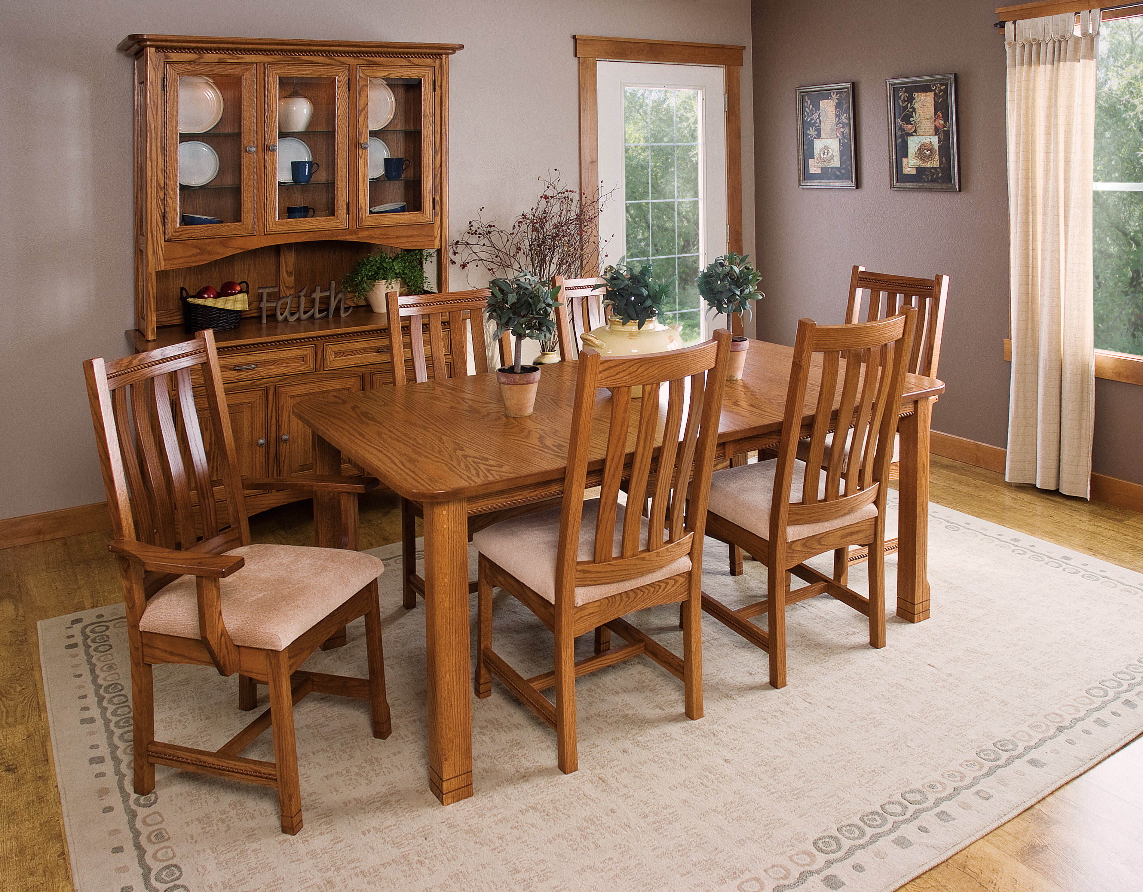 West Lake Dining Table Set Product