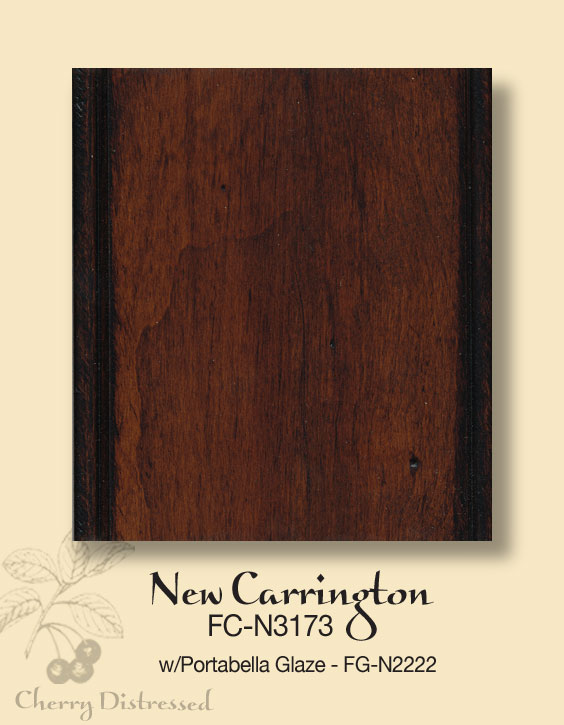 New Carrington on Distressed Cherry