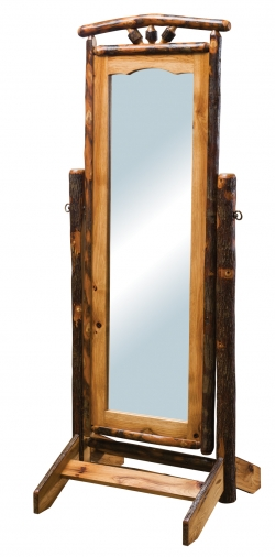 Hickory Cheval Mirror Product
