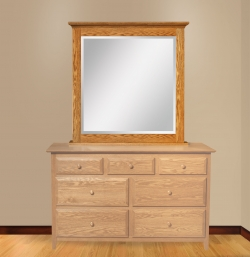 Dresser Mirror with Sliding Jewelry Wings Product