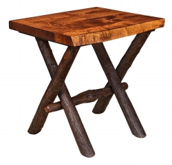 Millcreek Live Edge End Table Product