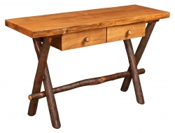 Millcreek Live edge Sofa Table w/2 Drawers Product