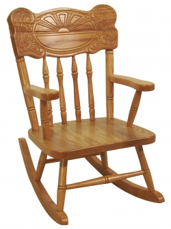 MC Sunburst Child's Rocker Product