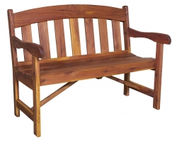 Arched Garden Bench Product