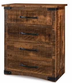 Orewood Rough-Sawn 4 Drawer Chest Product