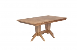 Milan Double Pedestal Table Product