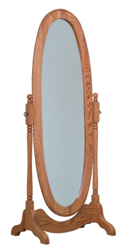 Oval Cheval Mirror Product