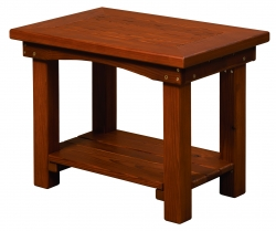 Outdoor Pine Side Table Product