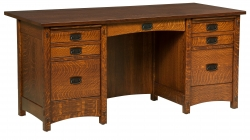 Signature Mission Secretary Desk Product