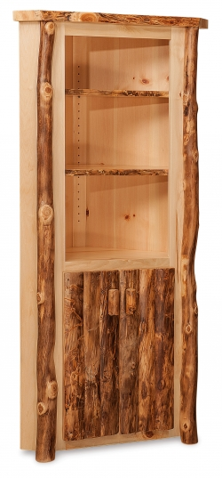 Red Cedar Corner Cabinet Hardwood Creations